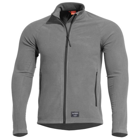 Mikina Pentagon ARKOS micro-fleece wolf grey/black